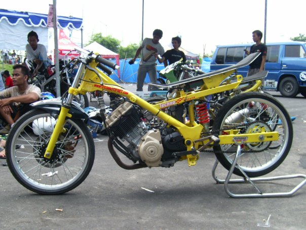 Modifikasi Motor Drag D Under Indonesia 8 Picture To Pin