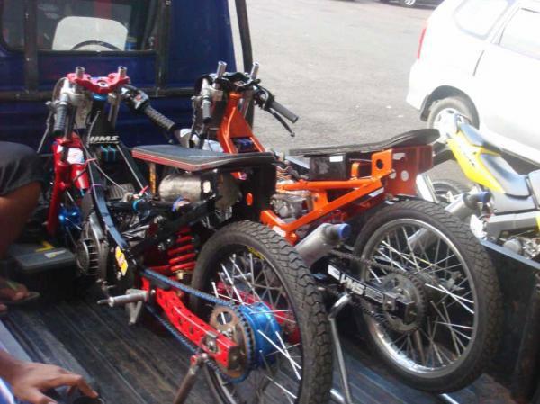 modifikasi motor drag | otomania