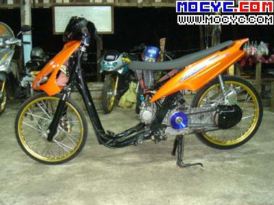 Variasi Motor Mio Drag top