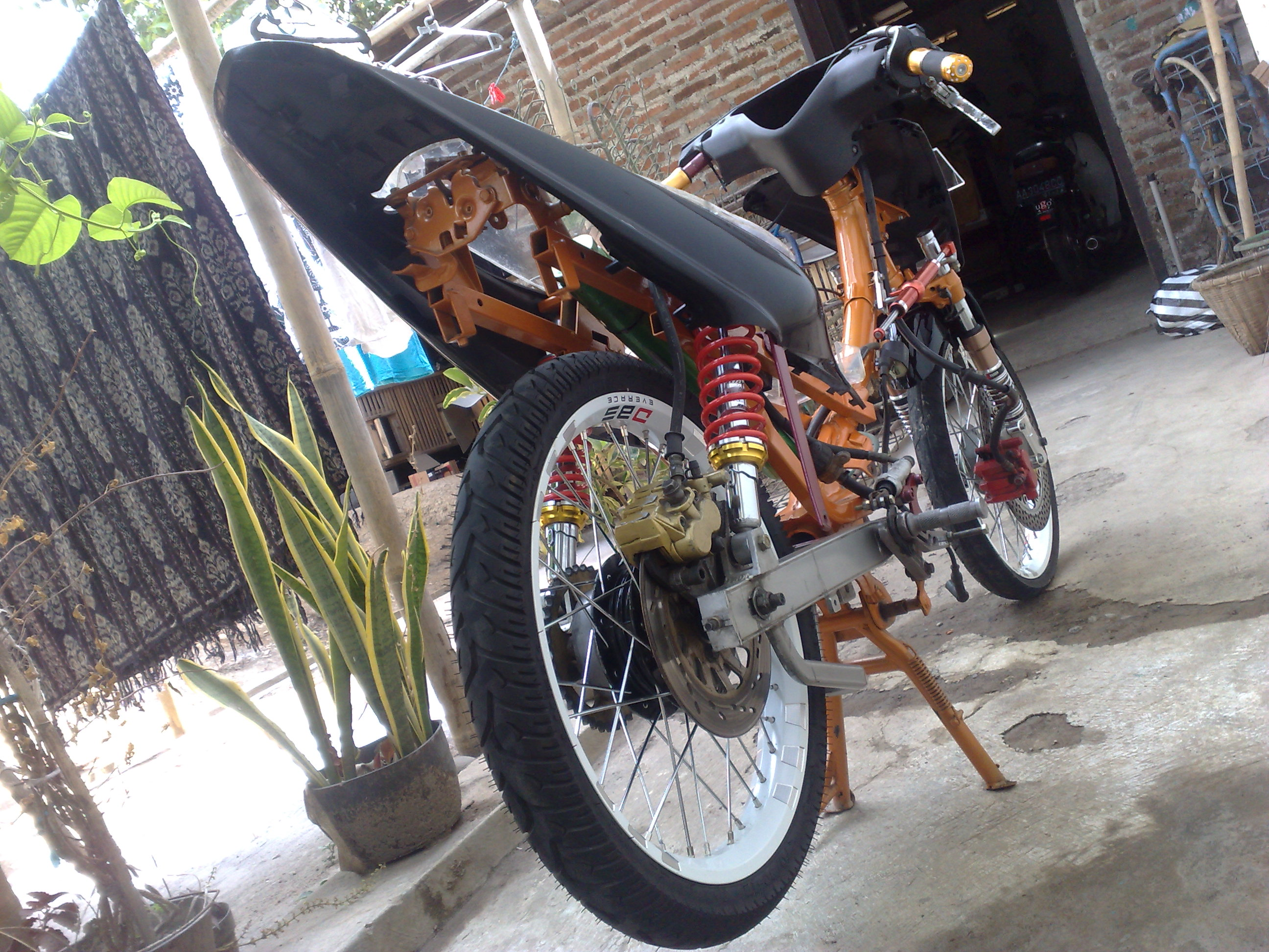 Photo Modifikasi Motor F1zr
