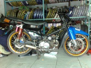 modifikasi motor indonesia, modifikasi motor honda