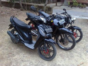 modifikasi suzuki spin, modifikasi honda supra, modifikasi honda tiger